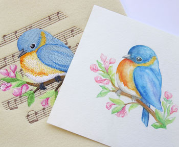 Embroidery Library - Songs of Spring