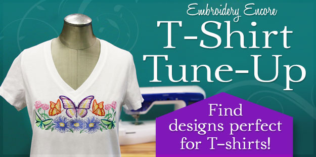 Embroidery Library - T-Shirt Tune-Up