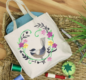 Embroidery Encore - Tote Bag Boutique
