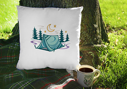 Embroidery Library - Let's Go Camping!