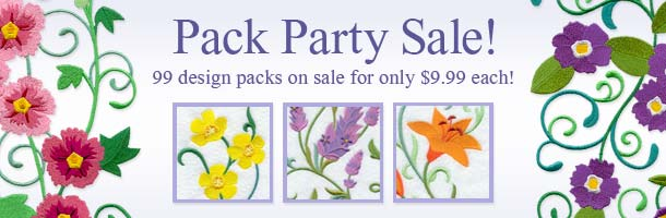 Pack Party Sale!