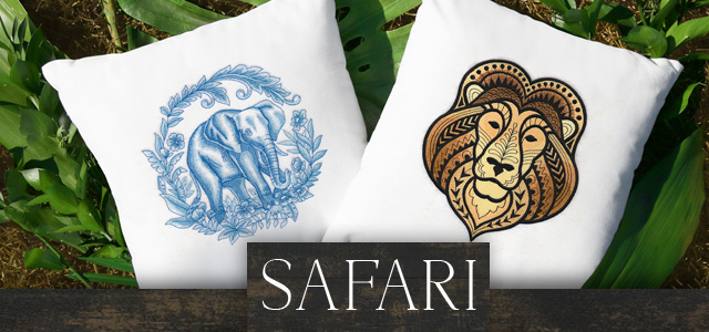 Embroidery Library - Safari