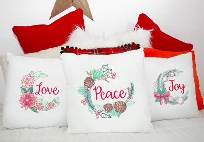 Embroidery Library - Christmas in July