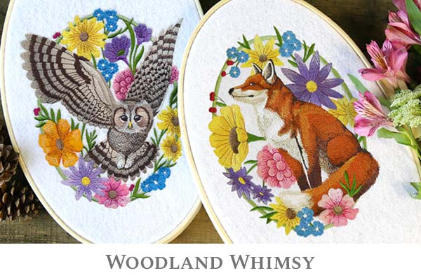 Embroidery Library - Woodland Whimsy