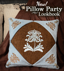 It's a Pillow Party Inspiration Station!