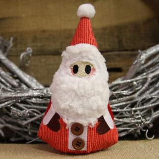 Project Tutorial - Primitive Santa Stuffie (In-the-Hoop)
