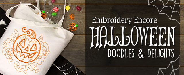 Embroidery Encore - Halloween Doodles & Delights