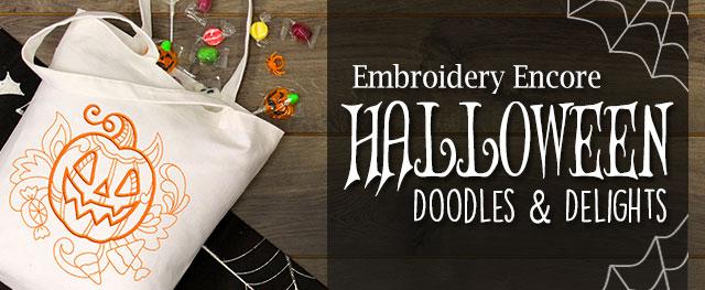 Embroidery Encore - Halloween Doodles & Delights
