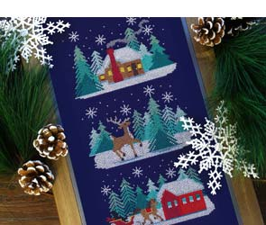Embroidery Library - Christmas Memories