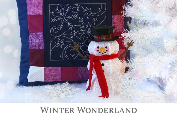 Embroidery Library - Winter Wonderland