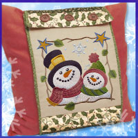 Learn how to make a picture window pillow with these free project instructions using machine embroidery designs.