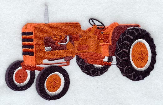 Embroidery Of Tractors : Machine embroidery designs at library new