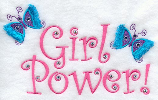Girl Power! (Crystals, Fringe)