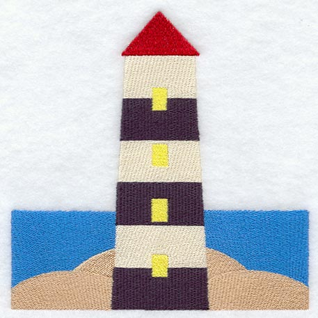 Free Lighthouse Quilt Block Patterns : Machine Embroidery Designs at Embroidery Library! - Embroidery Library