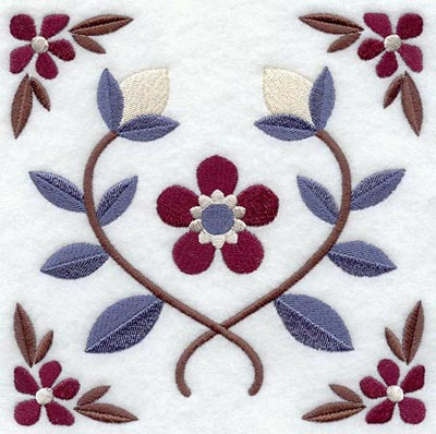 floral designs for embroidery