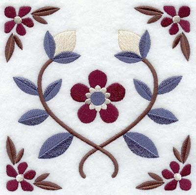 B3777r nakış için çiçek tasarımları