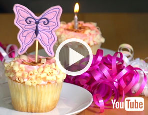 Embroidery Library Video Tutorial - Birthday Party Embroidery