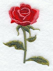 Rose with Stem