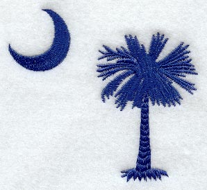 Palmetto Embroidery Hats, Carolina Girl Embroidered T-Shirts