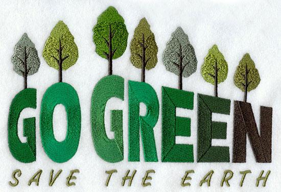 going green in the home essay