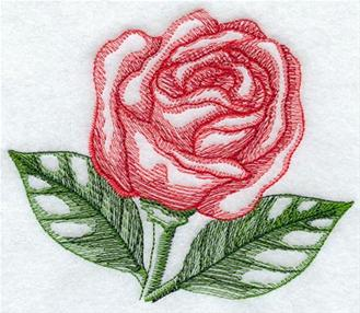 machine embroidery on cardstock