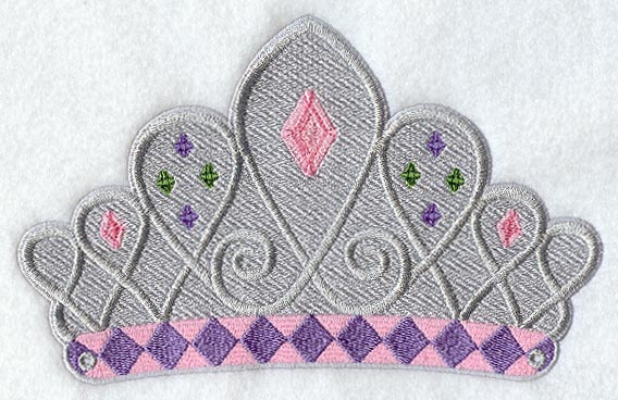 Embroidery Machine Design For Wearable Crown