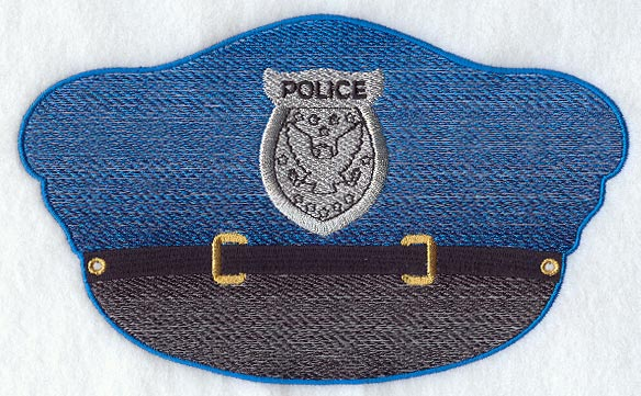 Police Hat Template