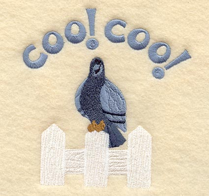 Machine embroidery designs at embroidery library for Www coo