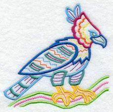 Machine Embroidery Design Turkey Vulture