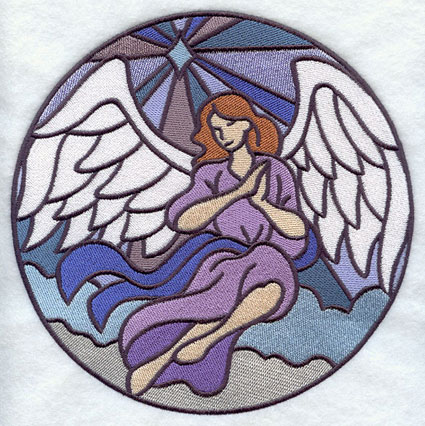 Angel Stained Glass Patterns