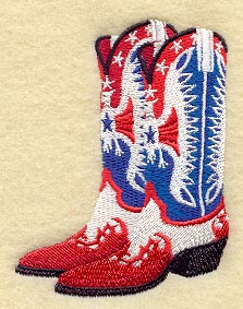 Machine Embroidery Designs at Embroidery Library! - Fancy Cowboy Boots