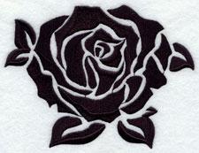A damask rose.