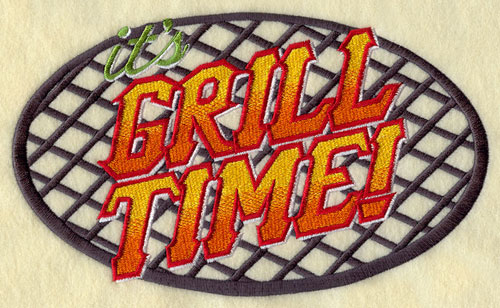 Grill Time design.
