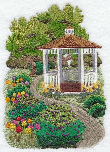 Garden embroidery design inspiration interior designs for Garden embroidery designs