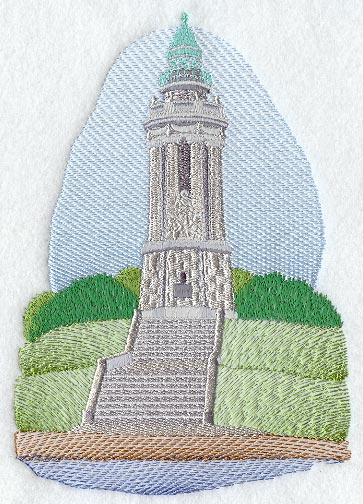 Thomas Point Lighthouse Embroidery Design 171 Embroidery