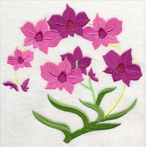 Both designs add bright splashes of color to pillow covers wall hangings quilts and more! & Machine Embroidery Designs at Embroidery Library! - Embroidery Library pillowsntoast.com