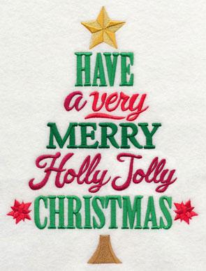 O Christmas Tree Song Lyrics Tea Towel