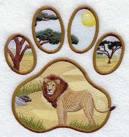 Lion Track Scene