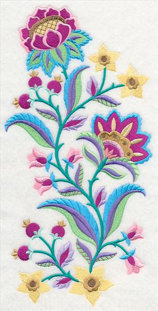 Machine embroidery designs at library jacobean