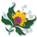 Crewel machine embroidery designs.