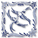Blue Willow machine embroidery designs.