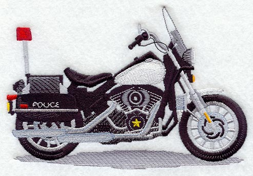 Motorcycle Embroidery Designs