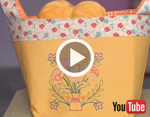 Embroidery Library Video Tutorial - Spring Spruce-Up