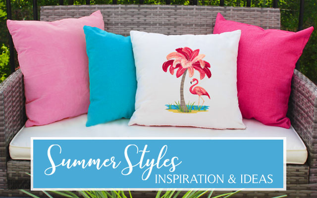 Pillow Embroidery Ideas: Machine Embroidery Designs at Embroidery Library!   Embroidery Library,