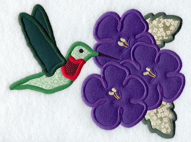 Hummingbird Quilt Pattern - Beginner Quilt Pattern