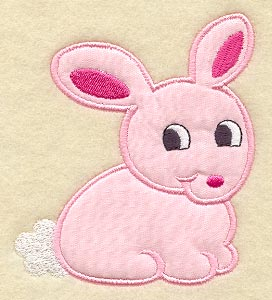 APPLIQUE QUILT PATTERN OF RABBIT | Free Patterns
