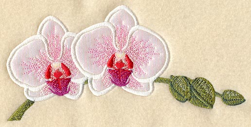 Applique Orchid