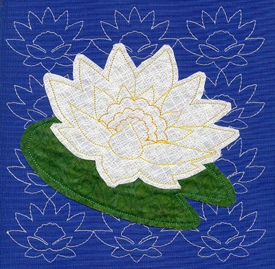 Dragonfly Lotus BBD Creations Applique Quilt Pattern | eBay