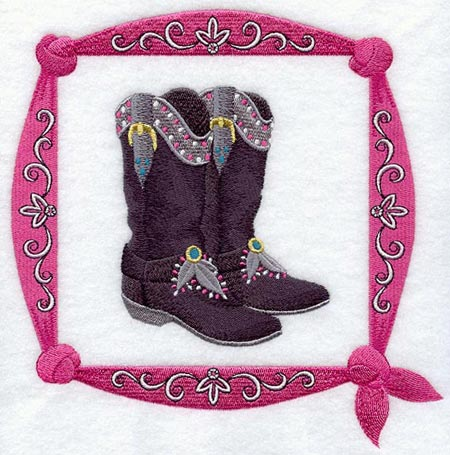 Boot Applique Pattern 187 Patterns Gallery