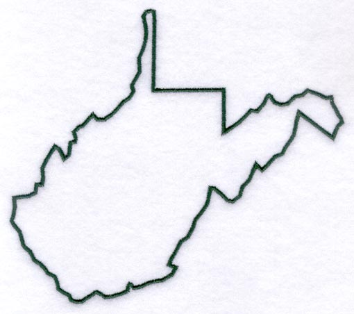 Clipart Map Of Virginia